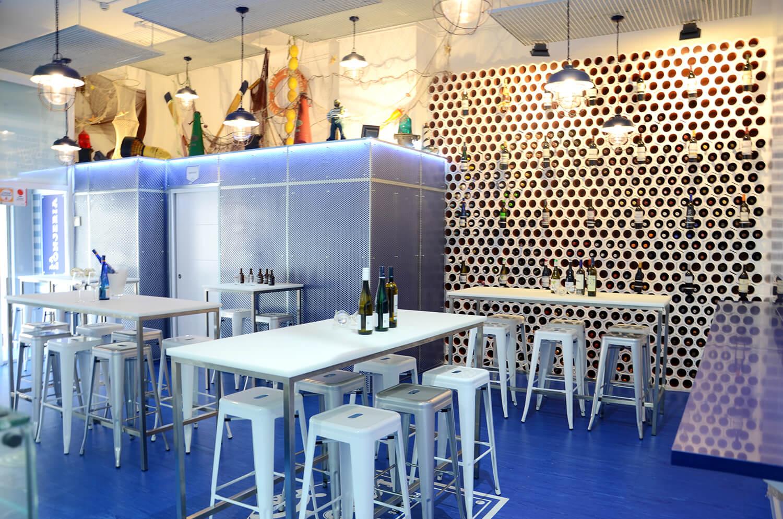 La Lonjeria Marisquería Madrid. Sala restaurante